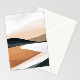 Abstract Art Landscape 15 Stationery Cards