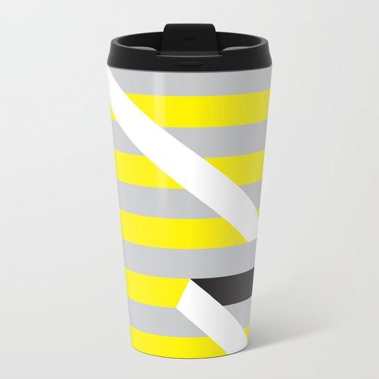 Spun Metal Travel Mug
