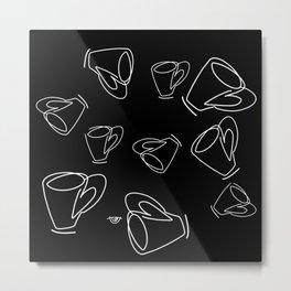 Cuppa Candor [Noir] Metal Print