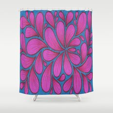 8 Spray Shower Curtain