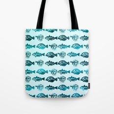 Blue Fish Yellow Fish Tote Bag
