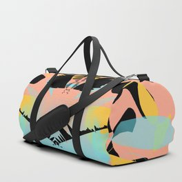 Dragonfly Silhouette Duffle Bag