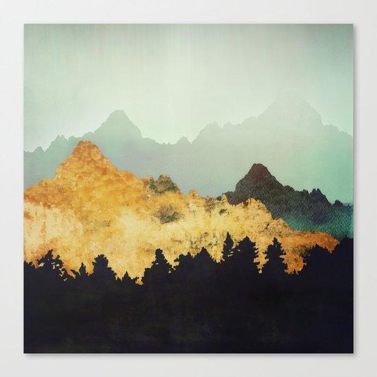 Patina Hills Canvas Print