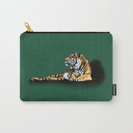 Reclining Tiger Carry-All Pouch