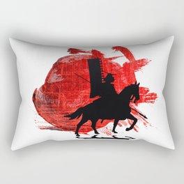 Japan Samurai Rectangular Pillow