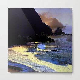 Gold Beach On The Oregon Coast Metal Print
