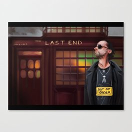 Concept art Out of Order Canvas Print