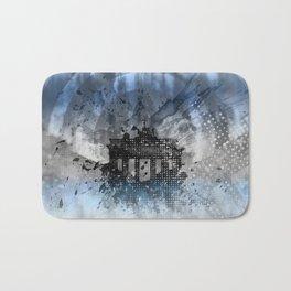 Graphic Art BERLIN Brandenburg Gate Bath Mat