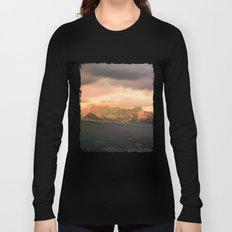 Escaping  -  Mountains - Dachstein, Austria Long Sleeve T-shirt