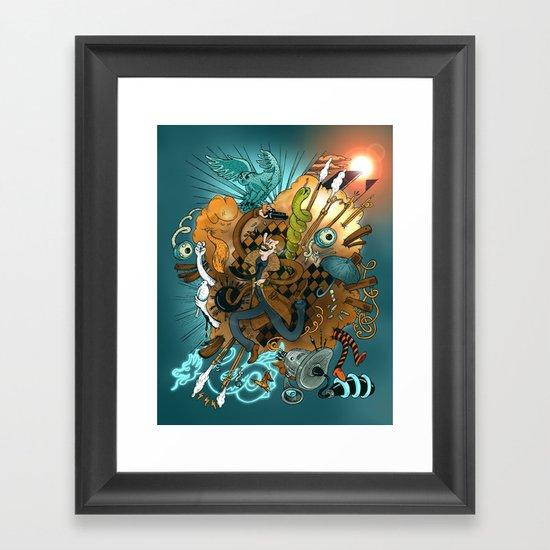 I've seen things (Blade Runner) Framed Art Print