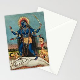 Hindu Destruction Goddess Kali 24 Stationery Cards