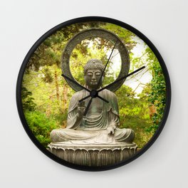 BUDDA Wall Clock