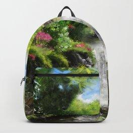 Hawaiian  Garden Backpack
