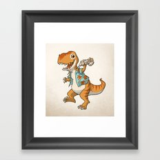 Just Keep Flying Framed Art Print