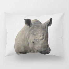 Rhino - Colorful Pillow Sham