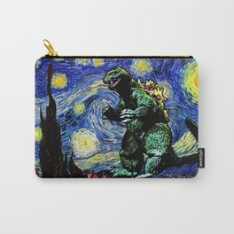 Godzilla versus Starry Night Carry-All Pouch