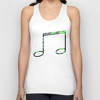 record Tank Tops featuring Broken Record by StevenARTify
