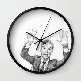Cheeese!... PhotobombBatchSketch Wall Clock