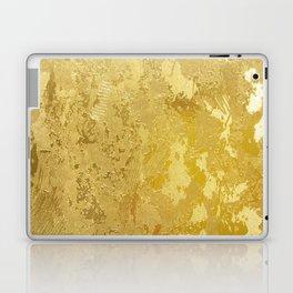 golden vintage Laptop & iPad Skin