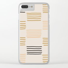 hatches Clear iPhone Case