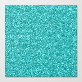 Sea Glitter Canvas Print