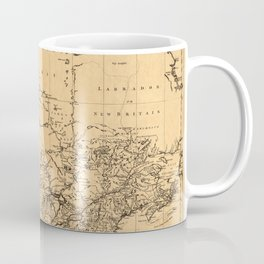 Map Of Canada 1762 Coffee Mug