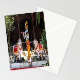 God Krishna  Stationery Cards