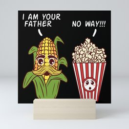 Father Corn Popcorn Seasoned Popped Mini Art Print