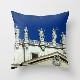 Vatican Statues Throw Pillow