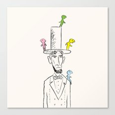 The things that lived on Lincoln. Canvas Print