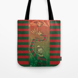 One, Two, Freddy's Coming For You Tote Bag
