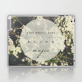 And that's magic. Laptop & iPad Skin