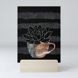Scandi Plant 3 Succulent Mini Art Print