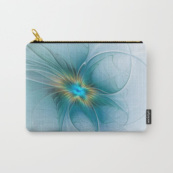 The little Beauty, Abstract Fractal Art Carry-All Pouch