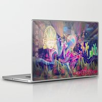 singapore Laptop & iPad Skins featuring Singapore Love by Bohemian Bliss