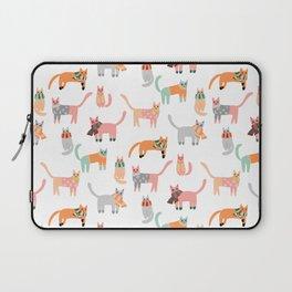 Winter Kitties Laptop Sleeve