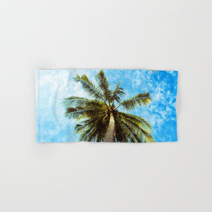 Palm Trees In The Sky Hand & Bath Towel