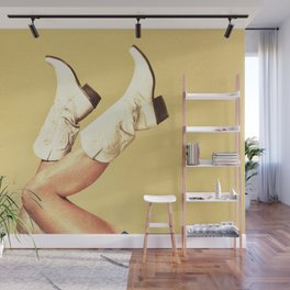 These Boots - Custom Size Wall Mural