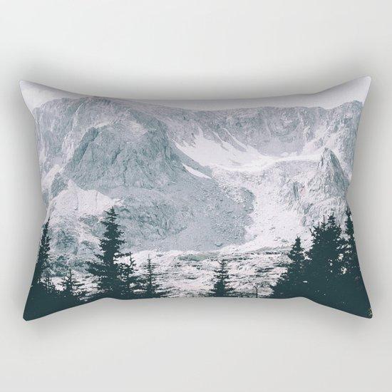 Mountains #faded Rectangular Pillow