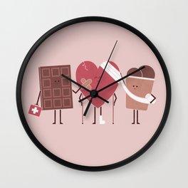 Comfort Food Wall Clock
