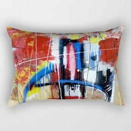 Assault to the Fortress Rectangular Pillow