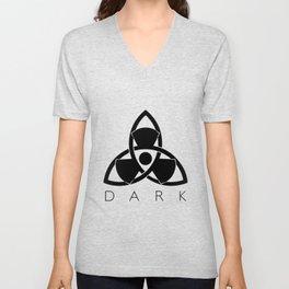 Nuclear Triskel Dark Unisex V-Neck
