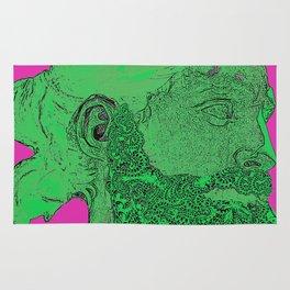 Hipster Neptune - Seaweed Rug