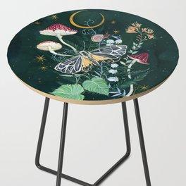 Mushroom night moth Side Table