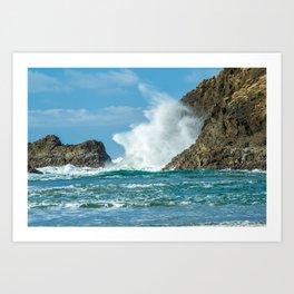 Ocean Blast Art Print