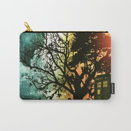 TARDIS STARRY NIGHT & SUNSET Carry-All Pouch