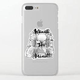 Minutt for minutt Clear iPhone Case