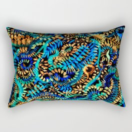 Dancing Flames Rectangular Pillow
