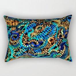 Dancing Flames Rectangular Pillow