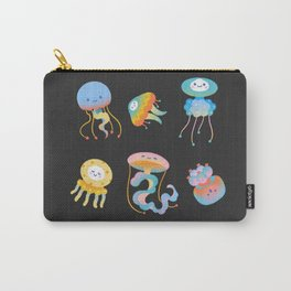 Pastel Jellyfish Carry-All Pouch
